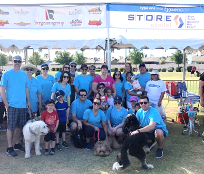 Juvenile Diabetes Research Foundation One Walk:  STOREs of Hope Represents with Pride!