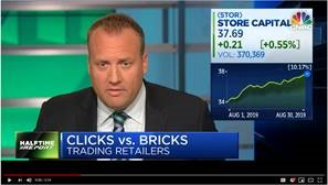 STORE Capital Recognized on CNBC for Exceptional Stock Performance