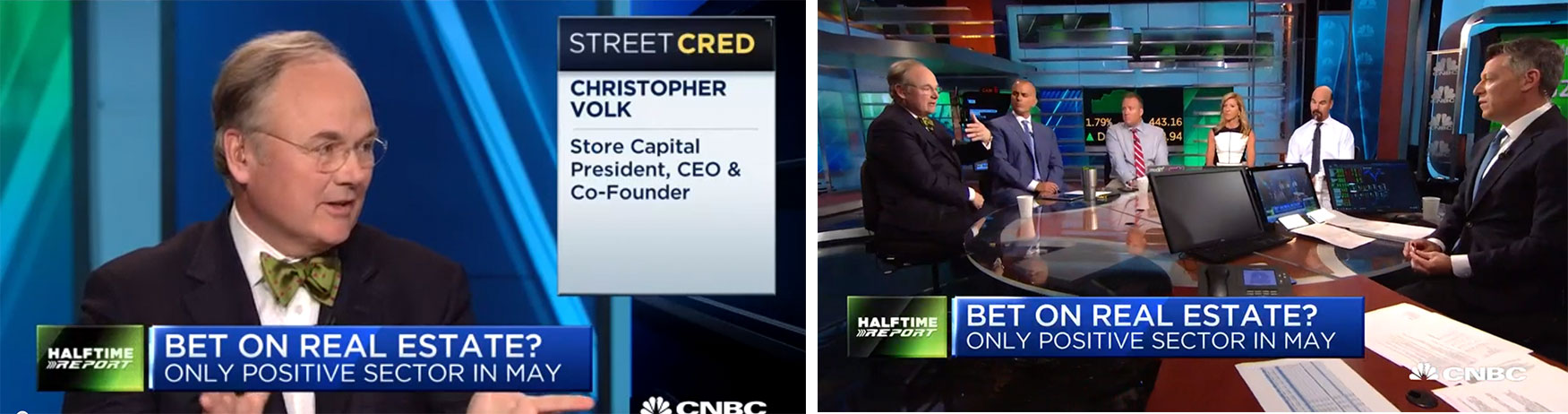 STORE Capital CEO Chris Volk Interviewed on CNBC
